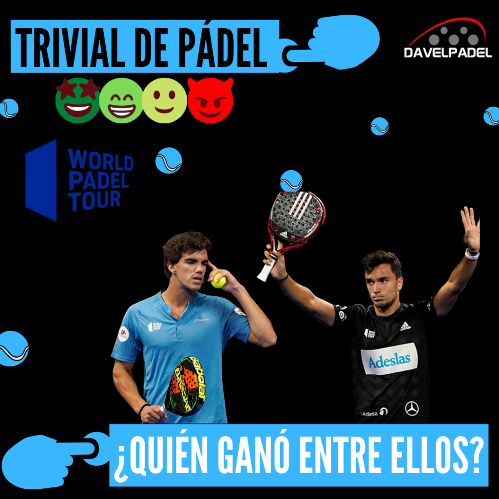 HEAD TO HEAD PADEL, ENFRENTAMIENTOS WORLD PADEL TOUR